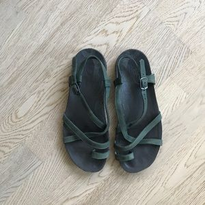Chaco Dorra leather sandals